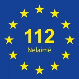 112 Europos pagalbos telefono numeris