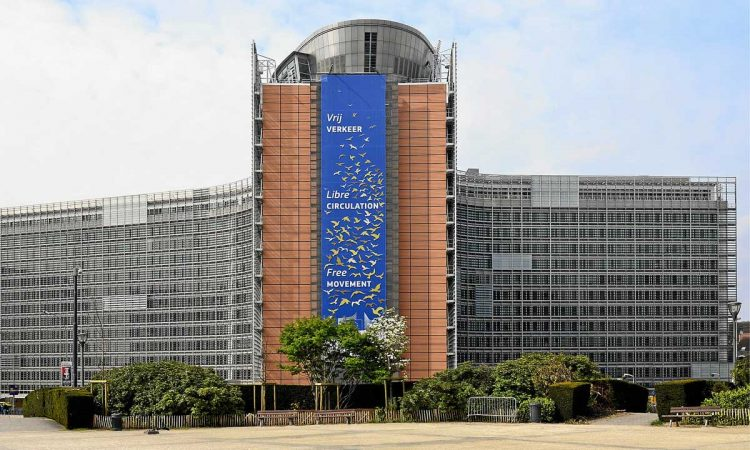 EU Kommissions-Gebäude